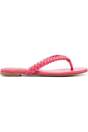 Gianvito Rossi Women Sandals - Braided-strap sandals