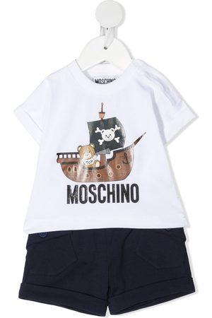 Moschino Graphic-print two-piece set