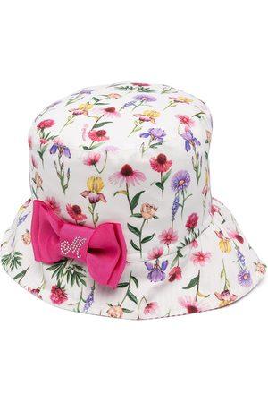 MONNALISA Floral-print bucket hat