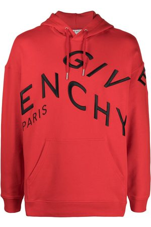 Givenchy Refracted logo embroidery hoodie