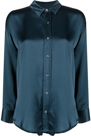 KATHARINE HAMNETT LONDON Silk long-sleeved shirt