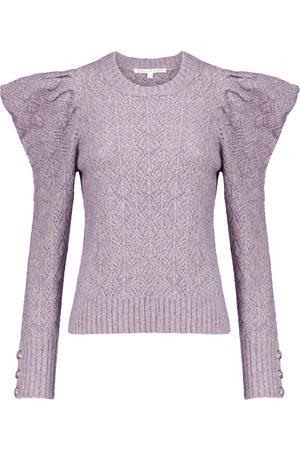 VERONICA BEARD Novah pointelle sweater