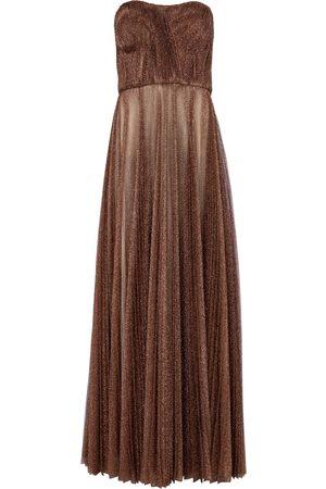 Dolce & Gabbana Women Party Dresses - Lamé tulle gown