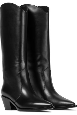 Gianvito Rossi Denver leather knee-high boots