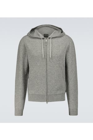 Tom Ford Cashmere-blend zipped sweater