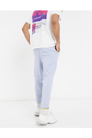 ASOS Oversized tapered joggers in pale