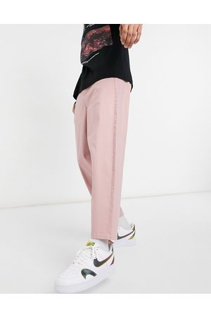 ASOS DESIGN Oversized tapered chino trousers in
