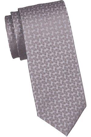 Charvet Geometric Silk Tie