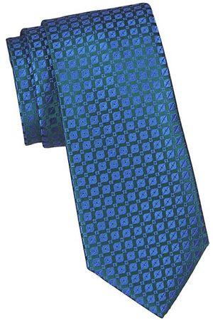 Charvet Neat Geo Thread Silk Tie