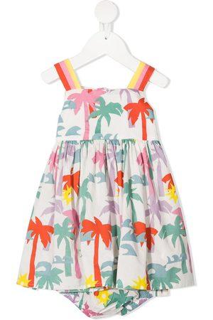 Stella McCartney Baby Casual Dresses - Palm tree-print dress