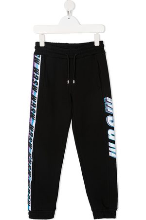Msgm Logo-print drawstring track pants