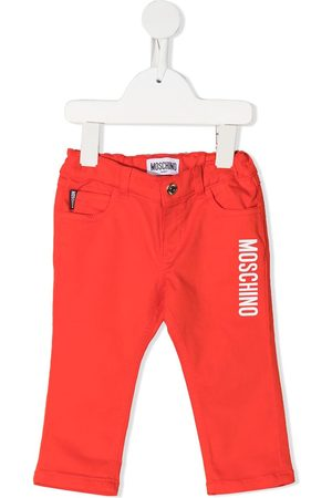 Moschino Baby Jeans - Logo-print jeans