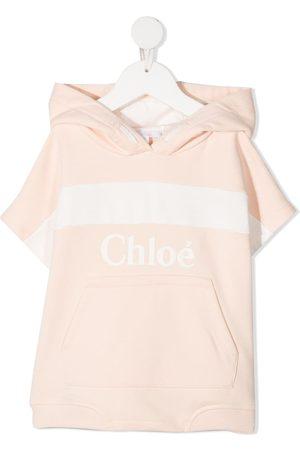 Chloé Logo print hoodie