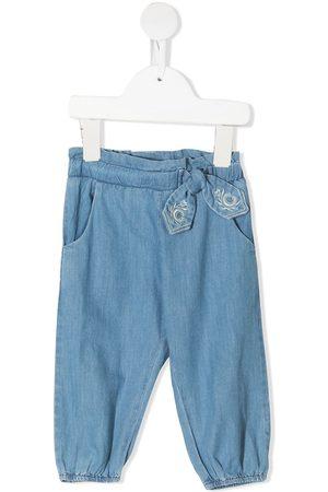 Chloé Elasticated denim trousers