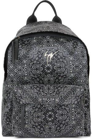 Giuseppe Zanotti Bud bandana-print backpack