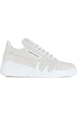 Giuseppe Zanotti Men Sneakers - Crocodile effect sneakers