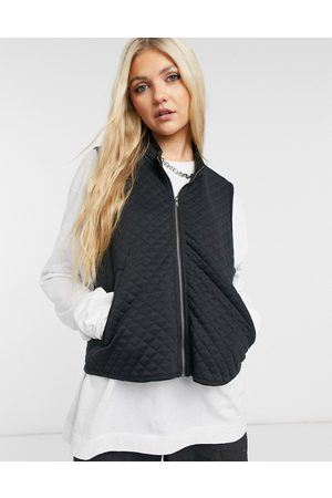 Noisy May Women Gilets - Quilted gilet in