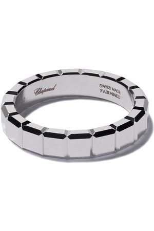 Chopard 18kt white gold Ice Cube ring