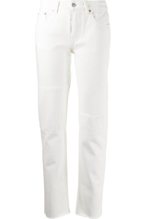 MM6 MAISON MARGIELA Women Tapered - Raw edge jeans