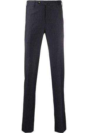 PT01 Plaid check trousers