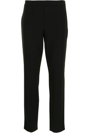 Moschino High-waisted slim-fit trousers