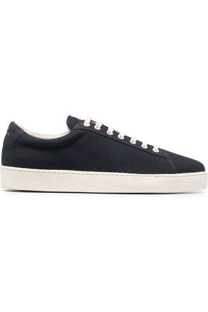 Zespa Leather lace-up trainers