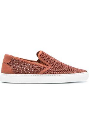 Zespà Interwoven leather shoes