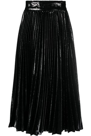 Dolce & Gabbana Metallic pleated skirt