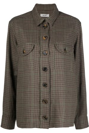 Blazé Milano Checked button front shirt jacket