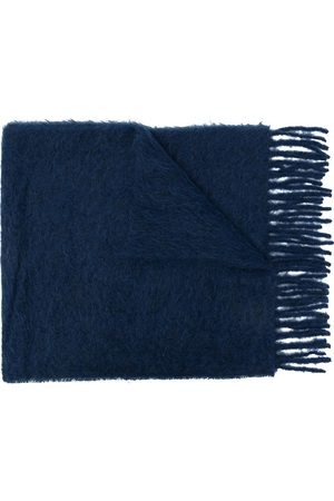 Marni Textured knitted scarf