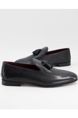 WALK LONDON Terry tassel loafers in leather