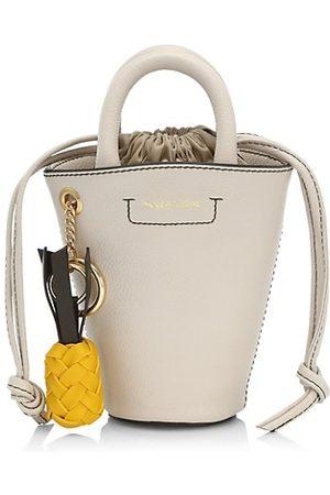 See by Chloé Mini Cecilia Drawstring Bucket Bag