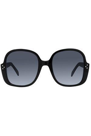 Céline 58MM Plastic Round Sunglasses