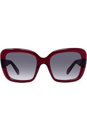 Céline 57MM Plastic Rectangular Sunglasses