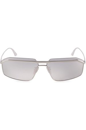 Balenciaga 64MM Rectangular Sunglasses
