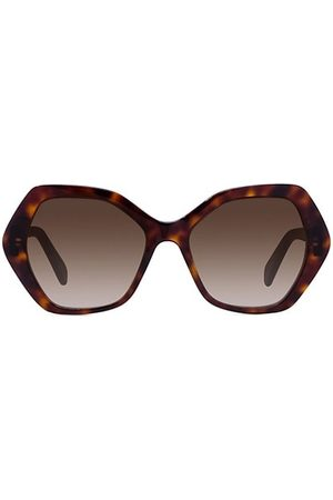 Céline Sunglasses - 56MM Plastic Hexagonal Sunglasses