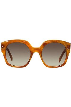 Céline 55MM Plastic Square Sunglasses