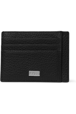 HUGO BOSS Men Wallets - Crosstown Full-Grain Leather Cardholder