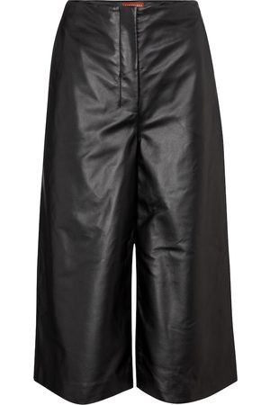 Altuzarra High-rise wide leather pants