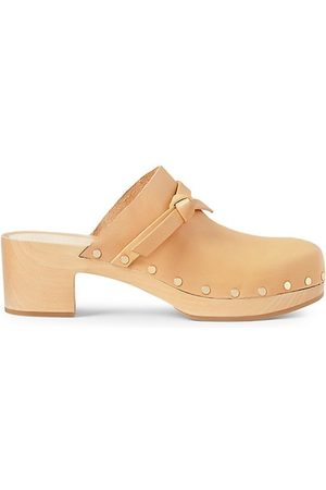Loeffler Randall Casual Shoes - Leather Low Heel Clogs