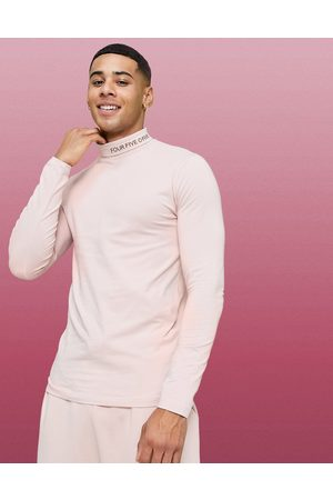 ASOS Muscle long sleeve t-shirt with roll neck