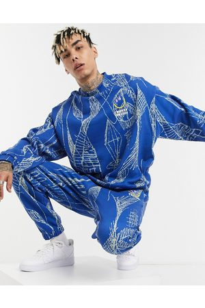 Crooked Tongues Co-ord jogger with doodle print