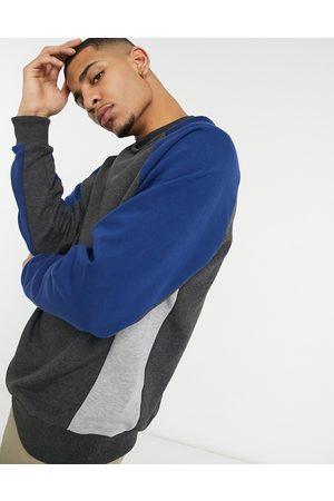 ASOS Oversized sweatshirt with colour blocking