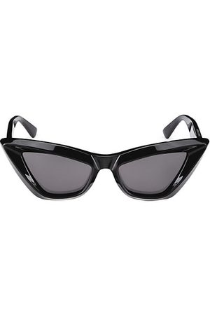 Bottega Veneta Sunglasses - Minimalist 53MM Cat Eye Sunglasses