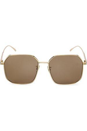 Bottega Veneta Sunglasses - DNA 58MM Square Sunglasses