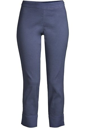 120% Lino Women Capris - Side Zip Capri Pants