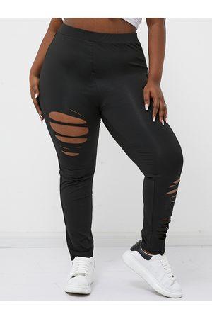 YOINS BASICS Plus Size Cut Out Leggings
