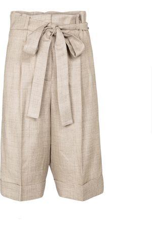 GABRIELA HEARST Judy wool, silk and linen shorts