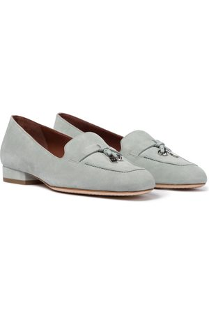 Loro Piana Summer Charms suede loafers