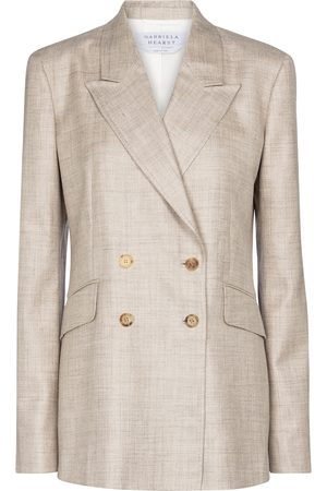 GABRIELA HEARST Angela wool, silk and linen blazer